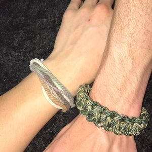 Other - Paracord Bracelet and Paracord Keychain
